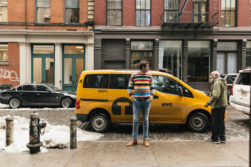 Stripes Talking to Driver